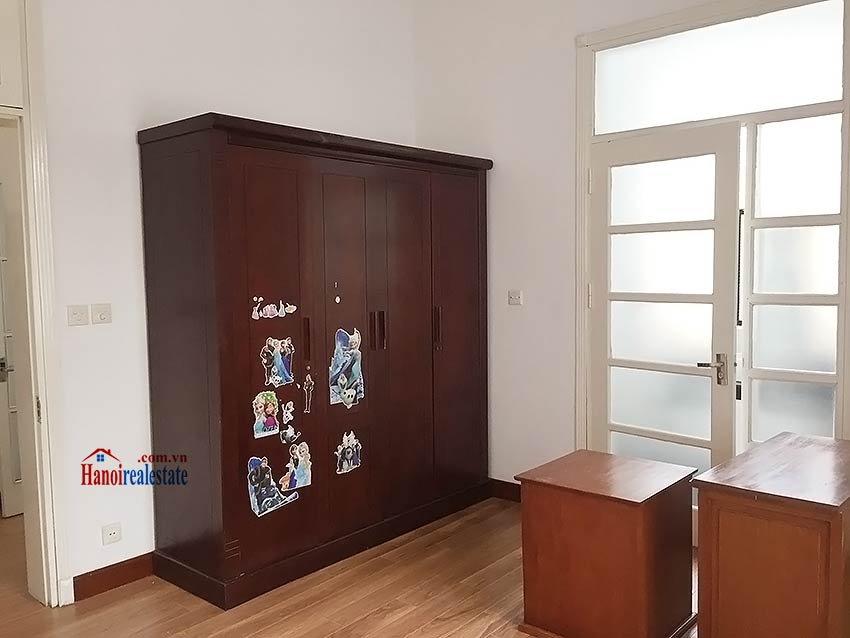 Partly furnished house for rent in Hai Ba Trung, 03BRs and big terrace 14