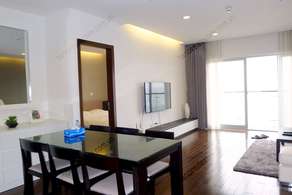 Perfect 3 Bedroom Furnished Apartment for rent in Lancaster Hanoi 1