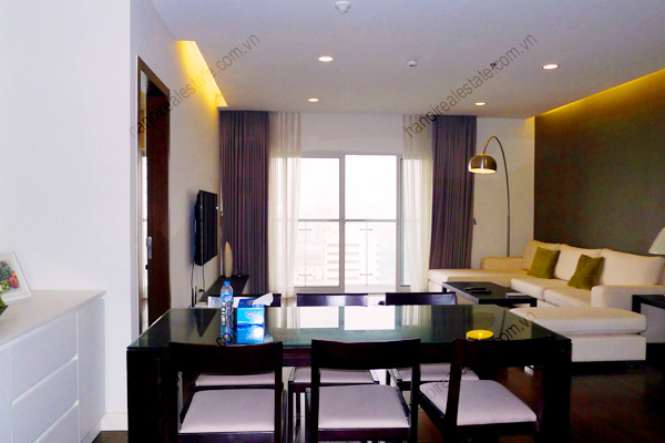 Perfect 3 Bedroom Furnished Apartment for rent in Lancaster Hanoi 2