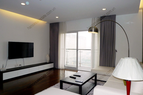Perfect 3 Bedroom Furnished Apartment for rent in Lancaster Hanoi 5