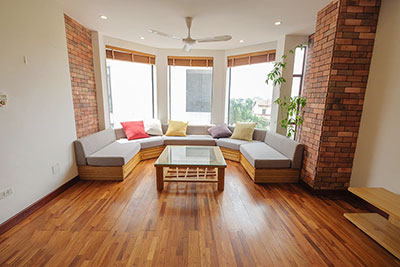Plenty natural light from the Duplex with 02 bedrooms in Dang Thai Mai