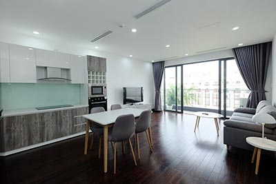 Pretty 02BRs apartment on Tu Hoa St with awesome view of Westlake