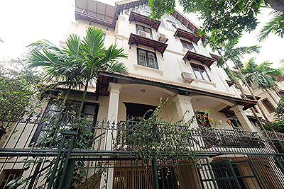 Quiet House In Tay Ho with open ground floor, overlooking West Lake