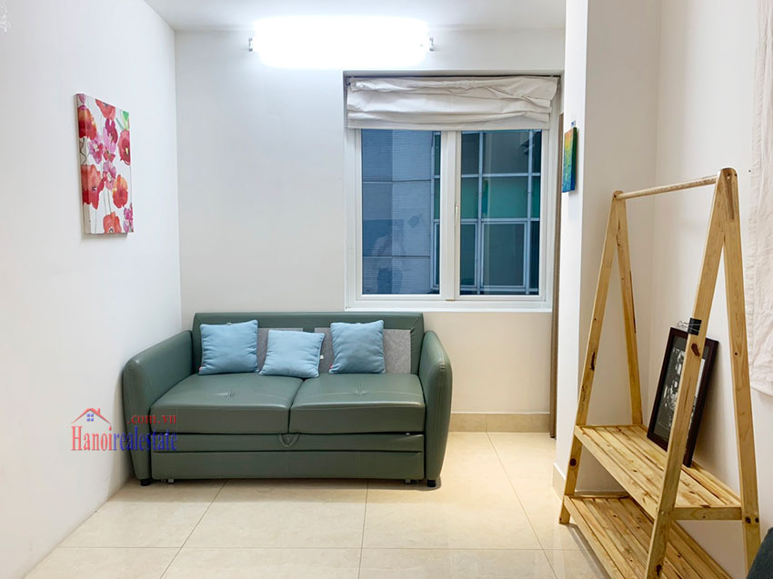 Quiet, nice one bedroom apartment for rent in Thuy Khue street 1