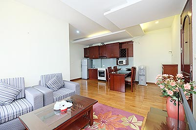 Reasonable price 1 bedroom apartment for lease in Hoan Kiem, Hanoi