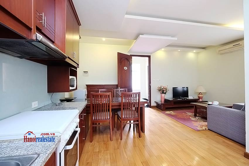 Reasonable price 1 bedroom apartment for lease in Hoan Kiem, Hanoi 4