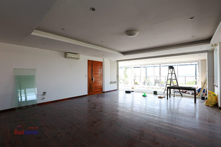 RENOVATING lake front 04BBRs apartment in Quang Khanh, nice terrace 2