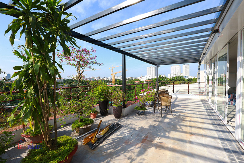 RENOVATING lake front 04BBRs apartment in Quang Khanh, nice terrace 5