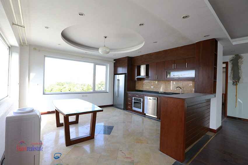 RENOVATING lake front 04BBRs apartment in Quang Khanh, nice terrace 7