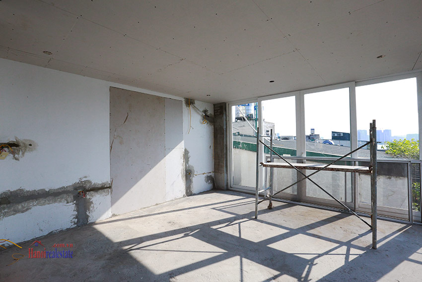 RENOVATING lake front 04BBRs apartment in Quang Khanh, nice terrace 9
