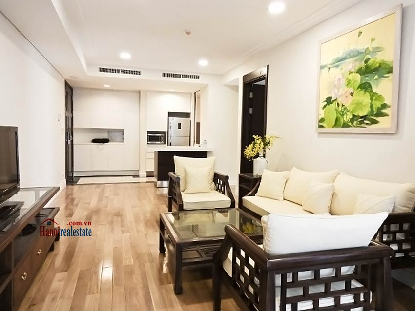 Rental 2 bedroom apartment in Hoang Thanh Tower, Hai Ba Trung, Hanoi 1