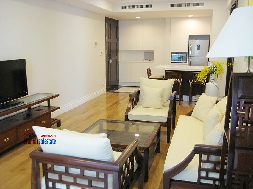 Rental 2 bedroom apartment in Hoang Thanh Tower, Hai Ba Trung, Hanoi 2
