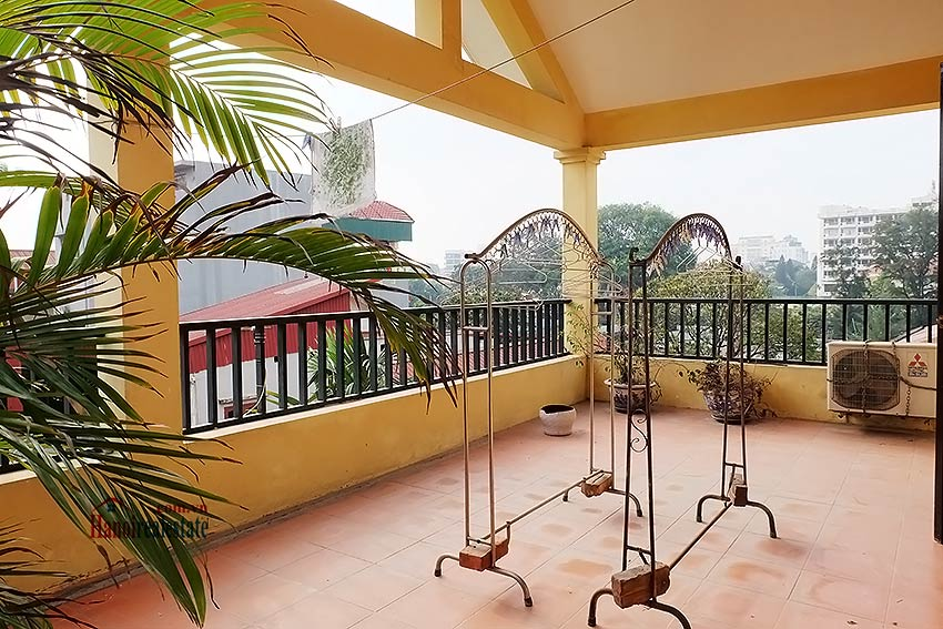 Rental 5 bedroom house on Dang Thai Mai, Tay Ho Westlake, Hanoi 15