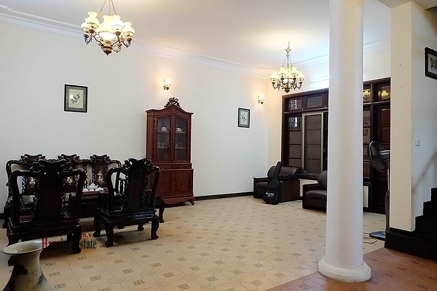 Rental 5 bedroom house on Dang Thai Mai, Tay Ho Westlake, Hanoi 4