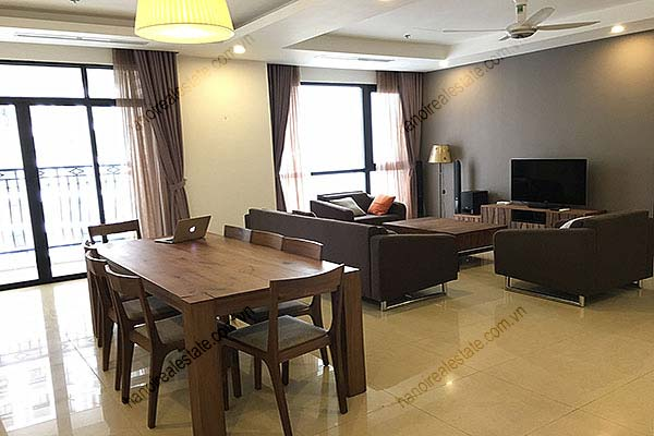 Rental Furnished 3 bedroom Exclusive Apartment in Royal city Hanoi 1