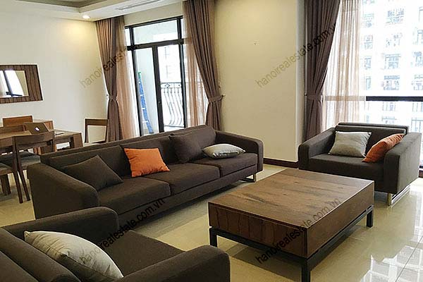 Rental Furnished 3 bedroom Exclusive Apartment in Royal city Hanoi 5