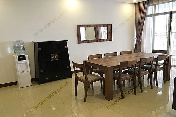 Rental Furnished 3 bedroom Exclusive Apartment in Royal city Hanoi 7