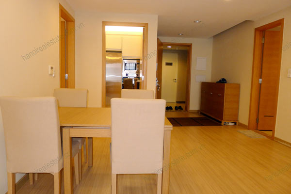 Rental Serviced apartment at Sky City Tower Hanoi, 2 bedrooms 4