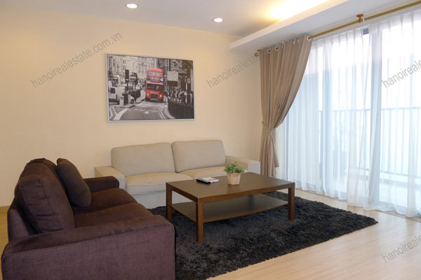 Rental Serviced apartment at Sky City Tower Hanoi, 2 bedrooms 5
