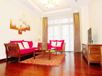 Rental well furnished 2 bedroom apartment at Royal City Hanoi