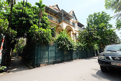 Romantic French style 04BRs house with lovely balcony and courtyard in Xom Chua