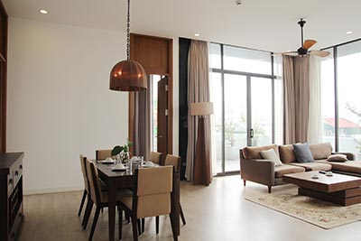 ROSE boutique Hoan Kiem 2 bedroom penthouse rentals, short walking to French Embassy