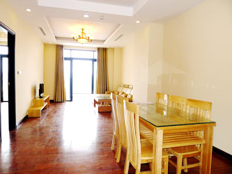 Royal City Apartment Rentals, Furnished 2 br apartment 134m2 on high floor