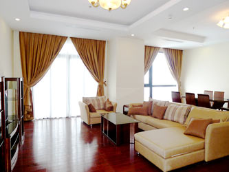Royal City Well Planned Apartment on high floor, Fully Furnished