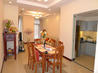 Royal City Hanoi, 2 bedroom furnished apartment for rent at R2 Tower
