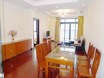 Royal City Hanoi, 3 bedroom Furnished apartment for rent on 20th floor