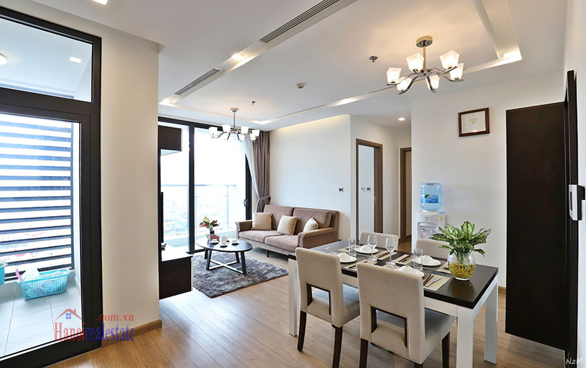 Semi classical 02 bedroom apartment in M2 Tower, Vinhomes Metropolis 1