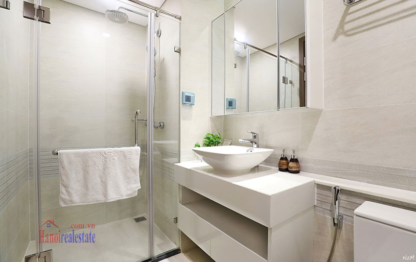 Semi classical 02 bedroom apartment in M2 Tower, Vinhomes Metropolis 11