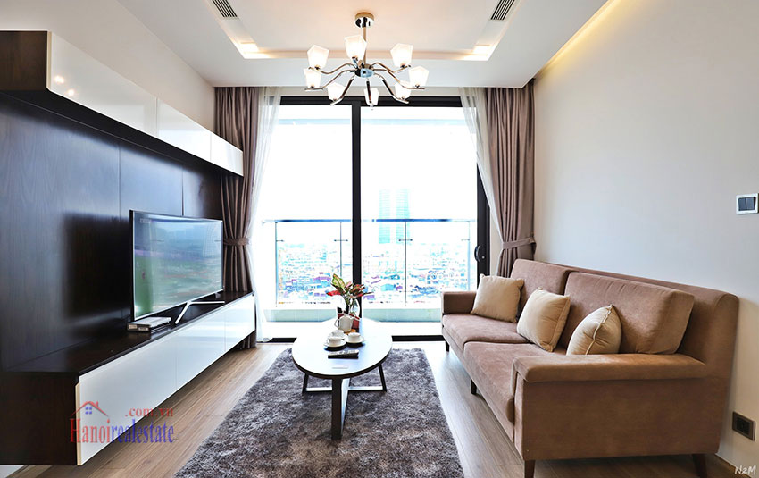 Semi classical 02 bedroom apartment in M2 Tower, Vinhomes Metropolis 3