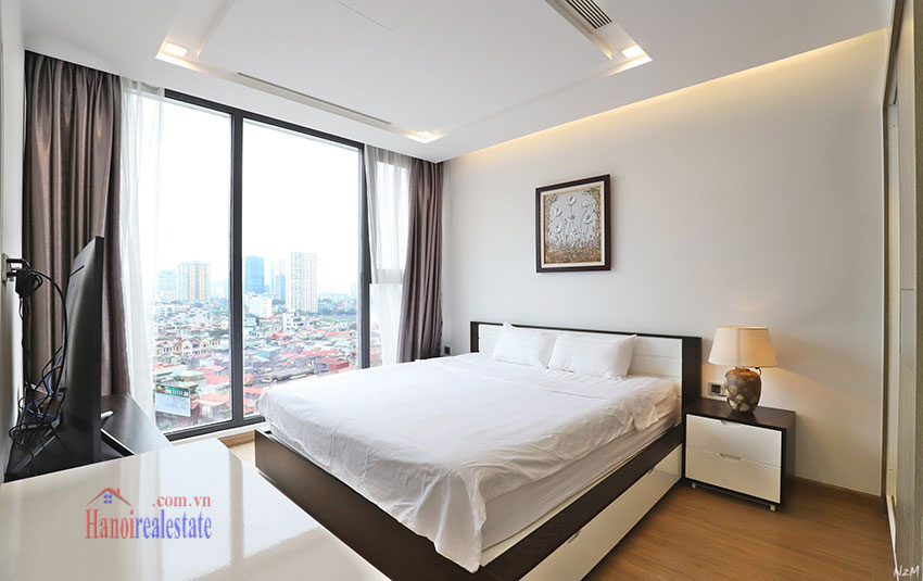 Semi classical 02 bedroom apartment in M2 Tower, Vinhomes Metropolis 6