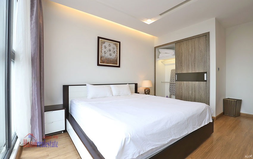 Semi classical 02 bedroom apartment in M2 Tower, Vinhomes Metropolis 7