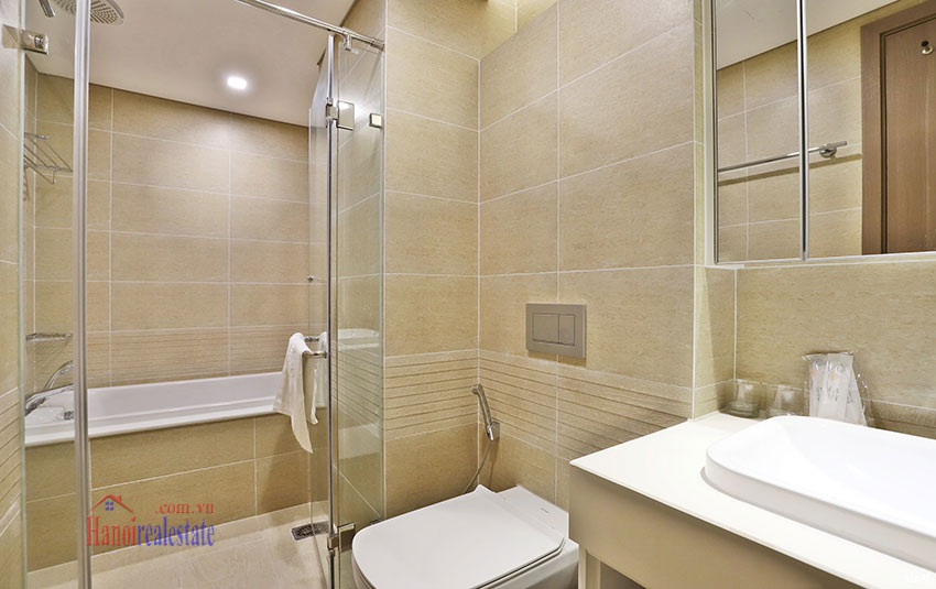 Semi classical 02 bedroom apartment in M2 Tower, Vinhomes Metropolis 8