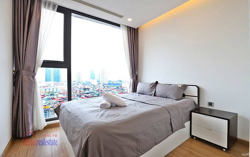 Semi classical 02 bedroom apartment in M2 Tower, Vinhomes Metropolis 9