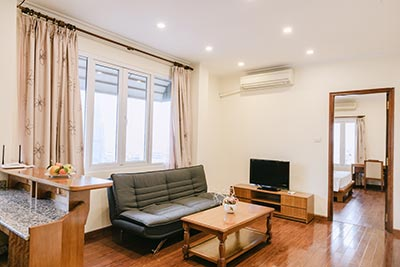 Serviced 1 bedroom apartment to let in Hoan Kiem, Hanoi
