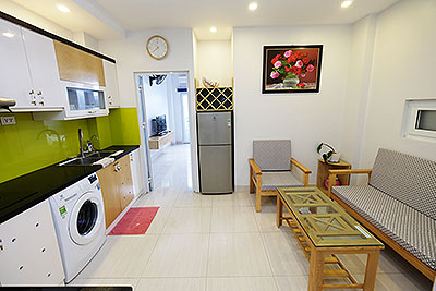 Serviced 2-bedroom apartment in Hoan Kiem to rent