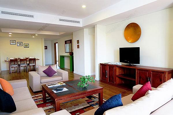 Serviced apartment at Pacific Place Hanoi, 3 bedrooms, furnished 4