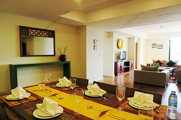 Serviced apartment at Pacific Place Hanoi, 3 bedrooms, furnished 9