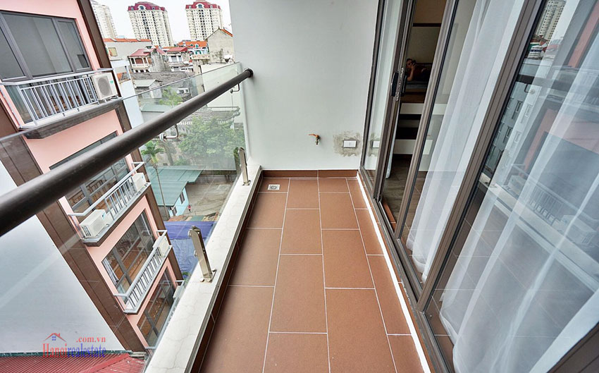 Serviced apartment on Nhat Chieu Street: 01 bedroom with big balcony and modern style 8