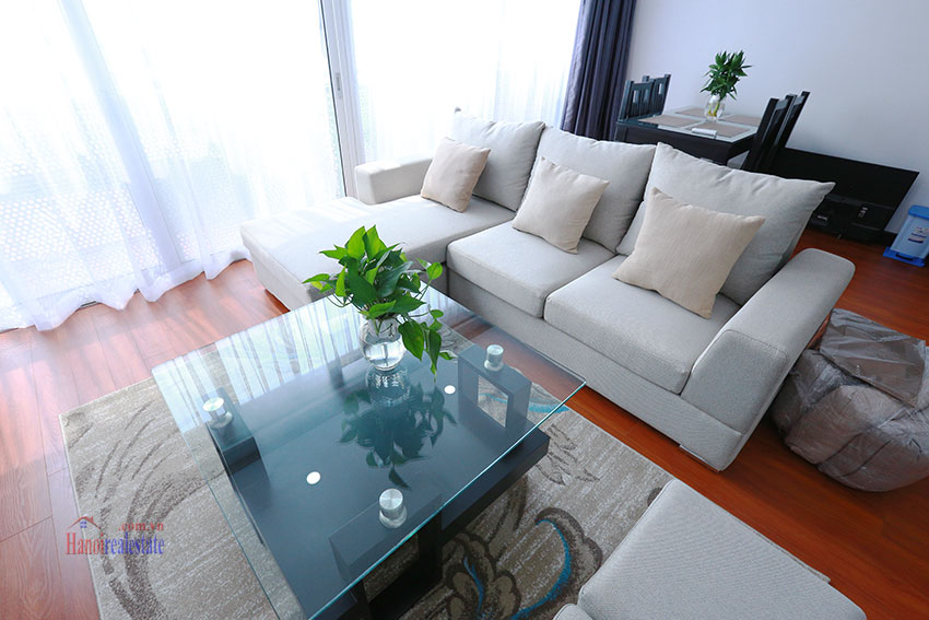 Serviced apartment with 2beds on a quite alley of Kim Ma Street 2