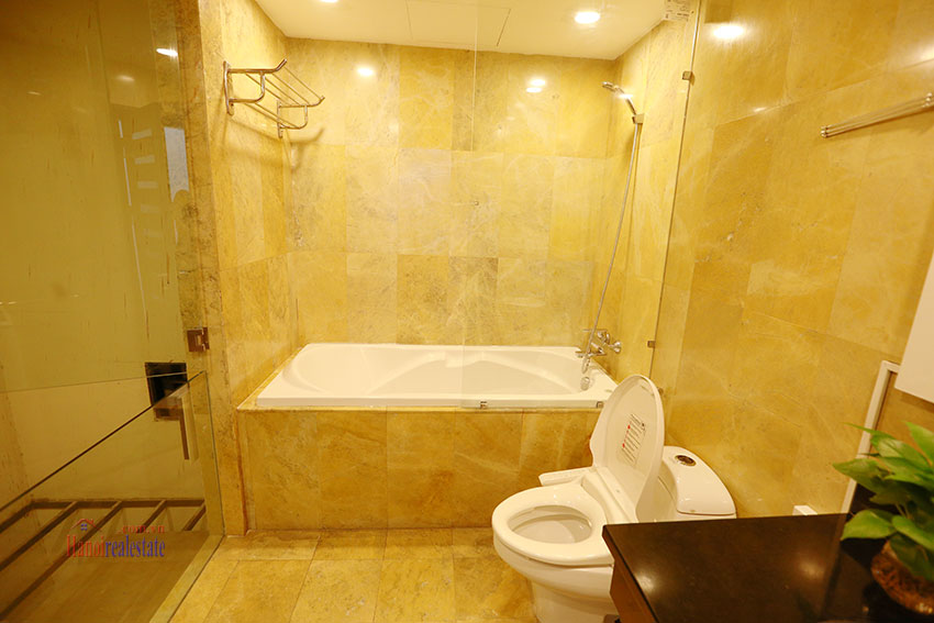 Serviced apartment with 2beds on a quite alley of Kim Ma Street 6