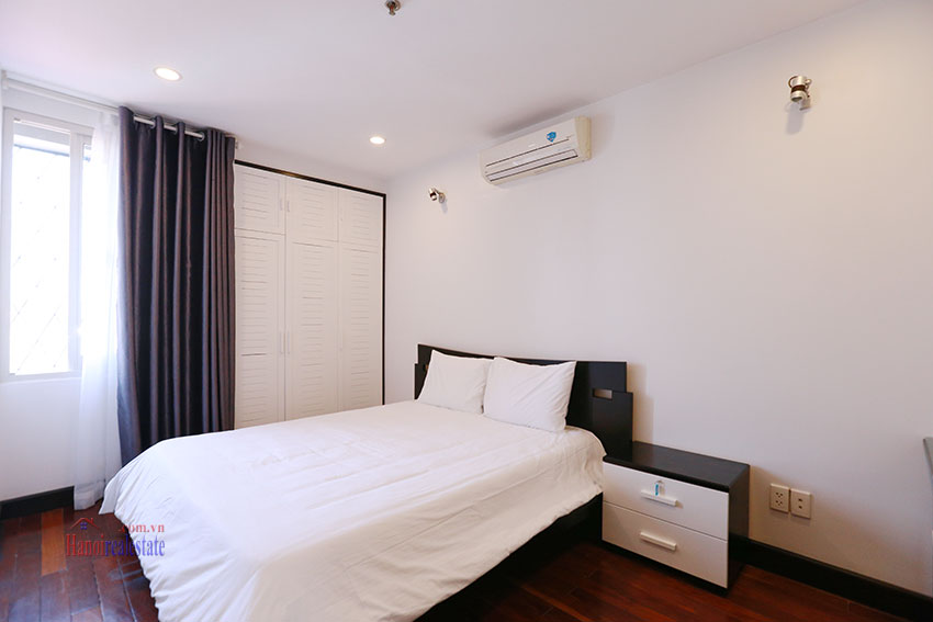 Serviced apartment with 2beds on a quite alley of Kim Ma Street 8