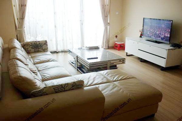 Sky City: 2 bedroom furnished apartment for rent in Sky City Hanoi