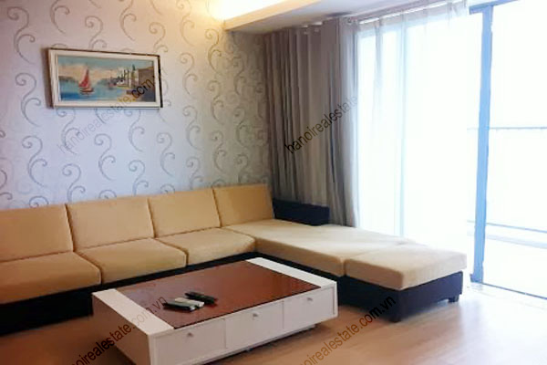 Sky City Hanoi: Furnished apartment for rent in 88 Lang Ha Str, 2 bedrooms 4