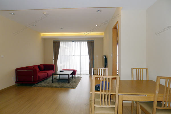 Sky City Tower Hanoi, 2 bedroom serviced apartment for rent on 28th floor 1