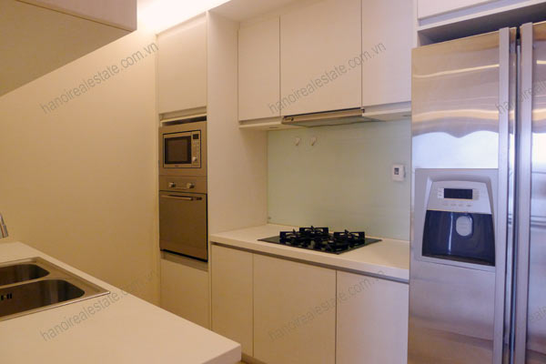 Sky City Tower Hanoi, 2 bedroom serviced apartment for rent on 28th floor 6