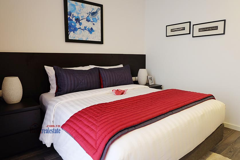 Somerset West Point: Amazing 03BRs serviced apartment, balcony with beautiful Red River view 14